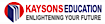 Testbook's Competitor - Kaysons logo