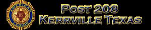 Kerrville Tx American Legion Family Post 208's Company logo