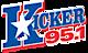 News Radio 96.7's Competitor - Kicker 95.1 logo