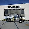 Komatsu Equipment's Company logo