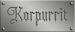 Korpurrit Designs Logo