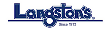 Langston's Western Wear's Company logo