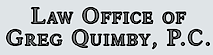 Law Office of Greg Quimby's Company logo