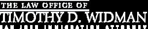 Law Office Of Timothy D. Widman's Company logo