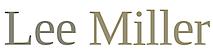Lee Miller's Company logo