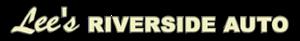 Lee's Riverside Auto's Company logo