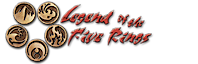 Legend of the Five Rings's Company logo