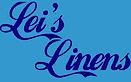 Leis Linens's Company logo