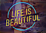 Hardfest's Competitor - Life Is Beautiful Festival logo