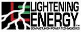 Lightening Energy's Company logo