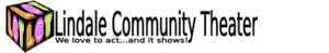 Lindale Community Theater's Company logo