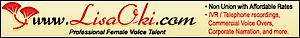 Lisa Oki, Freelance Voiceover Talent's Company logo