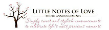 Little Notes Of Love - Custom Photo Announcements's Company logo