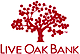 Live Oak Bancshares, Inc. provides small business lending. The Company offers loans to the veterinary, pharmacy, investment advisory, beverages, funeral homes, entertainment centers, agricultural, and healthcare sectors. Live Oak Bancshares serves customers in the United States.