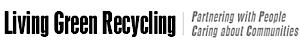 Living Green Recycling's Company logo