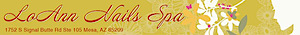 Loann Nails Spa Mesa's Company logo