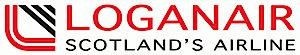 Loganair's Company logo
