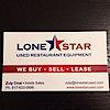 Lone Star Used Restaurant Equipment's Company logo