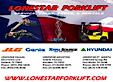 Lonestar Forklift's Company logo