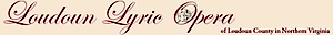 Loudoun Lyric Opera's Company logo