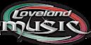Loveland Music's Company logo
