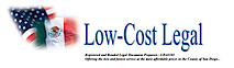 Low-cost Legal's Company logo