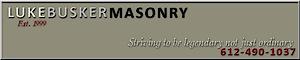 Luke Busker Masonry's Company logo