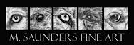 M. Saunders Fine Art's Company logo