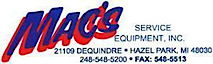 Mac's Service Equipment's Company logo
