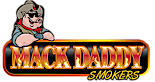 Mack Daddy Smokers's Company logo