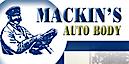 Mackin's Auto Body's Company logo