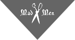 Mad Men Barbershop's Company logo