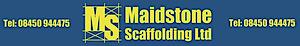 Maidstone Scaffolding's Company logo