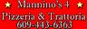Mannino's4 Pizzeria Trattoria Logo