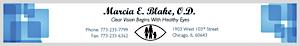 Marcia E. Blake, O.d's Company logo