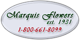 Marquis Flower Shop's Company logo