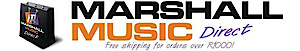 Marshall Music Direct's Company logo