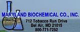 Maryland Biochemical's Company logo