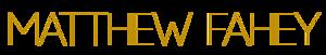 Matthew Fahey Productions's Company logo