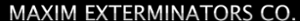 Maxim Exterminators's Company logo
