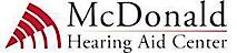 Mc Donald Hearing Aid's Company logo