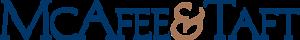 McAfee & Taft's Company logo