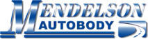 Mendelson Autobody's Company logo