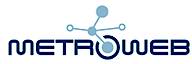 Metroweb's Company logo