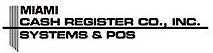 Miami Cash Register's Company logo