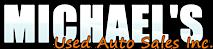 Michaels Used Auto Sales's Company logo