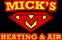 Mick's Heating & Air's Company logo