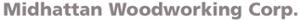 Midhattan Woodworking's Company logo