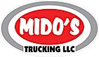 Mido's Trucking's Company logo