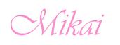 Mikai Swimwear's Company logo